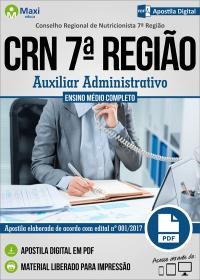 Auxiliar Administrativo - CRN 7ª Região