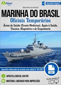 Oficiais Temporários Áreas de Saúde (Exceto Medicina) - Marinha do Brasil