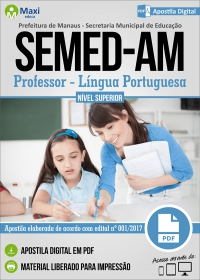 Professor Nível Superior - Língua Portuguesa - SEMED-AM