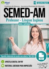 Professor Nível Superior - Língua Inglesa - SEMED-AM