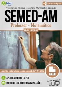 Professor Nível Superior - Matemática - SEMED-AM