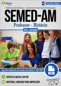 Professor Nível Superior - História - SEMED-AM