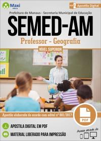 Professor Nível Superior - Geografia - SEMED-AM