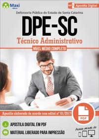 Técnico Administrativo - DPE-SC