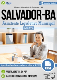 Assistente Legislativo Municipal - Câmara de Salvador - BA