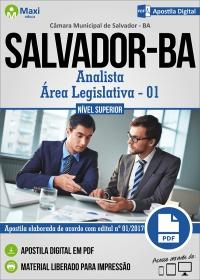 Analista - Área Legislativa - 01 - Câmara de Salvador - BA