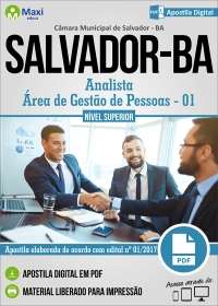 Analista - Área de Gestão de Pessoas - 01 - Câmara de Salvador - BA