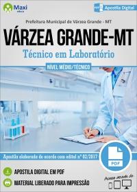 Agente Técnico do SUS - Téc. em Laboratório - Prefeitura de Várzea Grande - MT