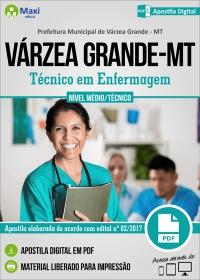 Agente Técnico do SUS - Téc. em Enfermagem - Prefeitura de Várzea Grande - MT