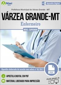 Profissional de Nível Superior do SUS - Enfermeiro - Pref. de Várzea Grande - MT
