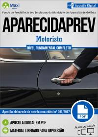 Motorista - APARECIDAPREV