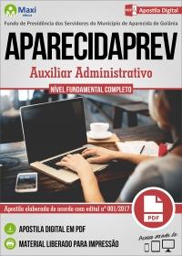 Auxiliar Administrativo - APARECIDAPREV