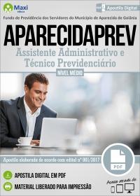 Assistente Administrativo e Técnico Previdenciário - APARECIDAPREV