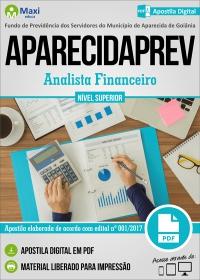Analista Financeiro - APARECIDAPREV