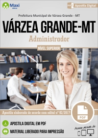 Administrador - Prefeitura de Várzea Grande - MT
