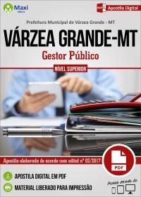 Gestor Público - Prefeitura de Várzea Grande - MT