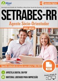 Agente Sócio-Orientador - SETRABES-RR
