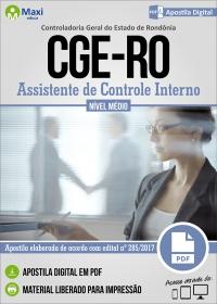 Assistente de Controle Interno - CGE-RO