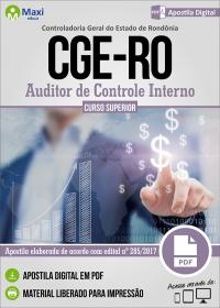 Auditor de Controle Interno - CGE-RO
