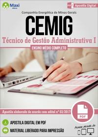 Técnico de Gestão Administrativa I - CEMIG