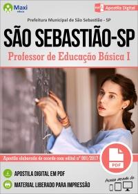 Professor de Educação Básica I - Prefeitura de São Sebastião - SP