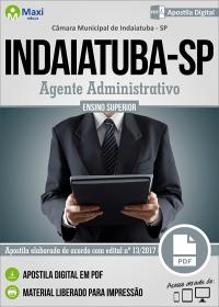 Agente Administrativo - Câmara de Indaiatuba - SP