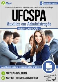 Auxiliar em Administração - UFCSPA