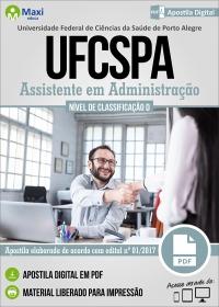 Assistente em Administração - UFCSPA