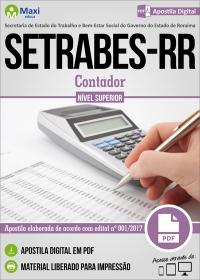 Contador - SETRABES-RR