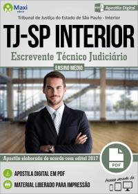 Escrevente Técnico Judiciário - Tribunal de Justiça - SP
