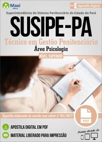 Técnico em Gestão Penitenciária - Área Psicologia - SUSIPE-PA