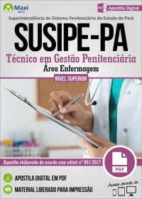 Técnico em Gestão Penitenciária - Área Enfermagem - SUSIPE-PA