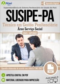 Técnico em Gestão Penitenciária - Área Serviço Social - SUSIPE-PA
