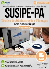 Técnico de Administração e Finanças - Área Administração - SUSIPE-PA