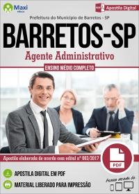 Agente Administrativo - Prefeitura de Barretos - SP