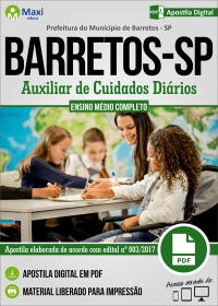 Auxiliar de Cuidados Diários - Prefeitura de Barretos - SP