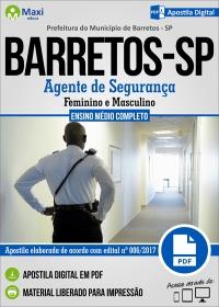 Agente de Segurança - Prefeitura de Barretos - SP
