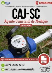 Agente Comercial de Medição - CAJ-SC