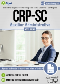 Auxiliar Administrativo - CRP - 12ª Região - SC