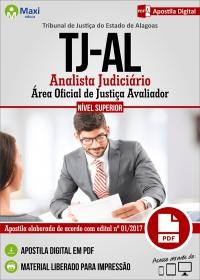 Analista Judiciário - Oficial de Justiça Avaliador - Tribunal de Justiça - AL