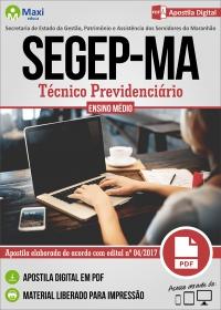 Técnico Previdenciário - SEGEP-MA