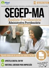 Analista Previdenciário - Administrativa Previdenciária - SEGEP-MA