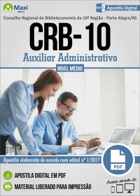 Auxiliar Administrativo - CRB - 10ª Região