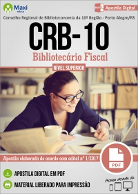 Bibliotecário Fiscal - CRB - 10ª Região