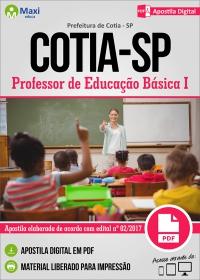 Professor de Educação Básica I - Prefeitura de Cotia - SP