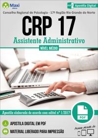 Assistente Administrativo - CRP - 17ª Região