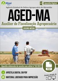 Auxiliar de Fiscalização Agropecuária - AGED-MA