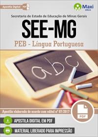 Professor de Educação Básica - Língua Portuguesa - SEE-MG