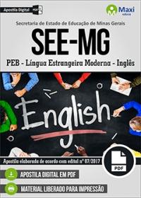 Professor de Educação Básica - Inglês - SEE-MG