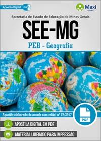 Professor de Educação Básica - Geografia - SEE-MG